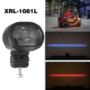 China Led Driving Lights For Cars Red/Blue Zone Light Danger Area Led Forklift Light on sale