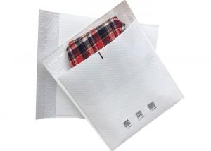 Quality Fashionable Tear Resistant White Clothing Plastic Bubble Bag for E-Commerce Packaging for sale