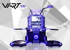China 32 Double Screen 9D Virtual Reality Motion Platform Interactive Play System on sale