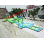 Parques inflables del agua de la piscina de alquiler, juegos inflables de los niños al aire libre con CE