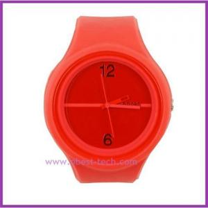 China 2011 hot selling Promotion Silicone Round Jelly Watch on sale