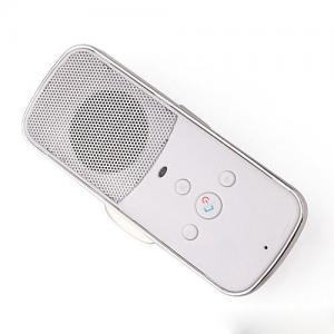 China Speakerphone Speaker Hands Free Cell Phone Car Kit With Sun Visor Clip on sale
