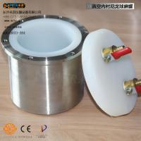 Nylon Lined Vacuum Ball Mill Jar 100ml - 10L , Grinding Mill Jars ISO Passed