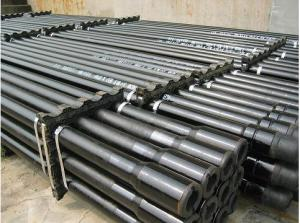 China Carbon Seamless Steel API Thread Drilling Rig Tools Casing Borehole Pipes For Exploration Geological on sale