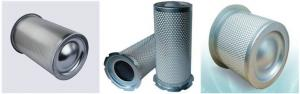 China Compressor Air Filter Element , Air Compressor Oil Separator Filter Anti Corrosion Material on sale