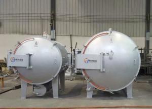 China 380V Horizontal Vacuum Furnace / Vacuum Brazing Furnace For Aluminium Alloy Products on sale