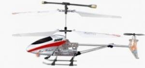 China White 3 channel gyro Remote control  Helicopters For Indoor  / Outdoor Flight on sale