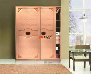 China Sensor Automatic Sliding Gate Kitchen Cabinet Sliding Doors With Pulleys / Latch on sale