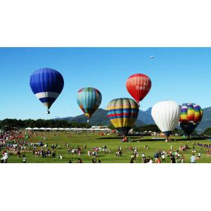 China Large Helium Floating Inflatable Hot Air Balloon Rides For Couples , Hot Air Balloon Festival on sale