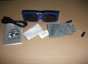 China Foldable IR 3D Glasses Dlp Link For 3D Projectors Light Weight on sale