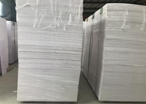 China High Strength White Pvc Display Board , Flame Resistant Foam Board Smooth Surface on sale