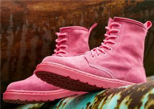 China European and American fashion Ankle Length Boots full leather Martin boots for women on sale