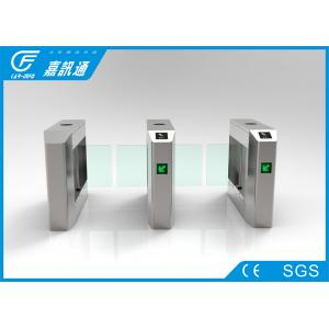 China Comercial Turnstile Access Control Security Systems , Building Rotating Entrance Gate on sale