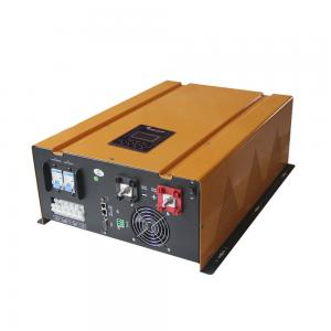 China Pure Sine Wave Solar Inverter 6000w 24v Dc To 220v Ac Low Frequency on sale