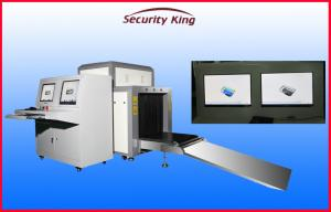 China 800 X 650mm Tunnel Size X Ray Luggage scanning Machine with ISO9001 Guaranteed on sale