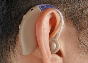 China Behind The Ear Hearing Sound Amplifier FDA Approved Seniors Watching TV Applied on sale
