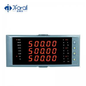 China Smart Integrated Digital Voltmeter Display Three Phase Analog Output on sale