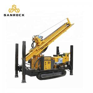 China Crawler Portable Hydraulic Water Well Drilling Rig One Year Warranty on sale