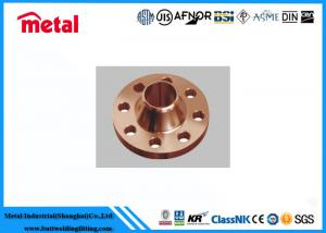 China Alloy Steel Copper Nickel Pipe Flanges Class 600 # C71500 Model Stress Corrosion Resistant on sale