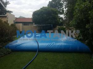 China hot sale folding pvc soft water storage tank  custom water baldder  35000L shape pillow tank on sale