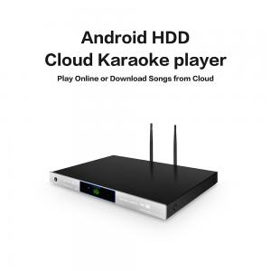 Android home KTV jukebox karaoke player with Vietnamese english