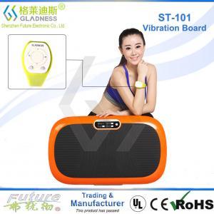 China Gladness Vibration Platform Fitness Massage Power Fit Vibration Plate on sale