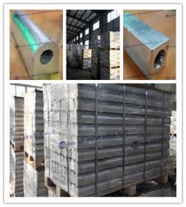 China Magnesium Aluminum Zinc Alloy Sacrificial Anode High Potential Magnesium Anodes on sale
