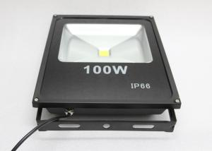 China Black 100w High Power Led Flood Lights Outdoor With Meanwell Power Supply on sale