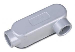 China Aluminum LB LR LL Rigid Conduit Body / Conduit Outlet Body High Strength on sale