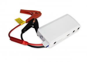 China 12000mAh Gas Power Portable Car Jump Starter White with emergency car kit on sale