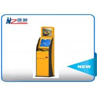 300 Cd/m2 Self Service Check In Kiosk Capactive LED touch screen with Receipt