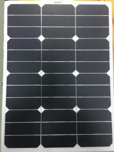China High Efficiency 50W SunPower Flexible Solar Cells Corrosion Resistant For Outdoor Sports on sale