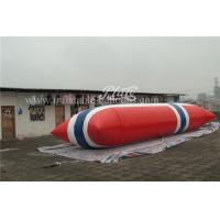 Commercial Inflatable Water Toys , 0.9mm Durable Inflatable Water Pillow