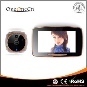 China 5 Touch Screen Intelligent Wide Angle Peephole Door Viewer With MMS Alarm on sale