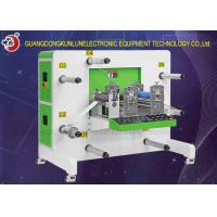 Professional Paper Roll Die Cutting Machine , Rotary Die Cutting Equipment