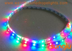 China Full Color RGB LED Strip Lights , SMD 3528 60D LED Flexible Tape Light For Family on sale