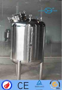 China Hygienic Grade  Stainless Steel Storage Tank With Liquid Level Meter supplier