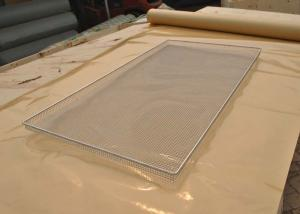 China Food Grade SS Oven Wire Mesh Tray For Food Baking , Polishing Processing on sale