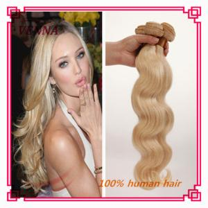 China 613 body wave blonde human hair weave, cheap blonde hair bundles on sale