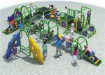 High Capacity Steel Playground Equipment Customized Color Meet The Childrens Curiosity