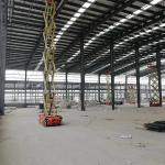 Galvanized Anti Seismic Q235B Steel Structure Warehouse