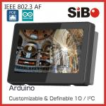 China Q896S 7 inch Android 6.0 tablets with wifi, bluetooth, camera, POE,LED bar on top, Inwall mount wholesale