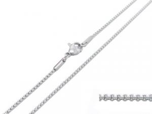 China Simple Stainless Steel Rolo Link Chain , SS Mens Silver Chains Necklace Jewellery on sale