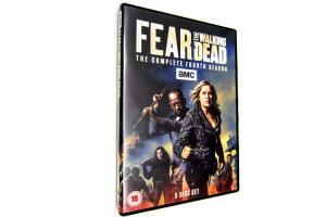 China Wholesale Fear The Walking Dead Season 4 DVD Movie TV Action Thriller Series DVD US/UK Edition on sale