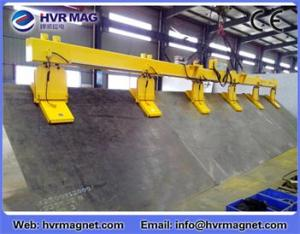 China HEPMP-V series electro permanent lifting magnet for lifting steel plate on sale