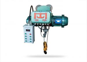 China Small Steel 2 Ton Electric Wire Rope Hoist Lifting Equipment 3 Phase 380V on sale