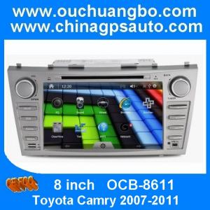 China Ouchuangbo Toyota Camry 2007-2011 radio DVD with gps navigation bluetooth OCB-8611 on sale