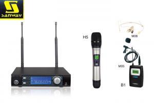 China 単一チャネル Uhf の無線マイクロフォン システム段階のマイクロフォン無線 S21 on sale