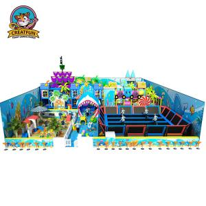 China Customized Size Kids Playground Equipment Soft Commercial Playground Sets on sale