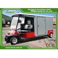 2 Seater 48v Electric Ambulance Golf Cart With Rain Cover Waterproof